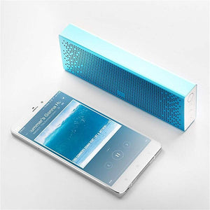 Xiaomi Mi Bluetooth Speaker Portable Stereo Wireless USB with HD Sound AUX Built-in Mic Square Speaker Global Version