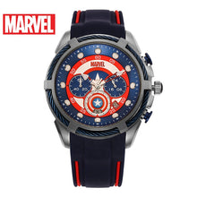 Cargar imagen en el visor de la galería, USA Marvel Characters Licensed Brand Gold Japan VD53 Quartz Movement Iron-man Watches Men Wrist