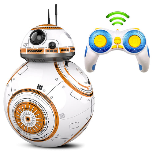 Fast delivery Upgrade Model RC BB-8 Droid Robot BB 8 Ball Intelligent Robot Kids Toys Gifts With Sound 2.4G Remote Control Robot
