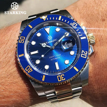 Cargar imagen en el visor de la galería, Starking Men Watch Brand Automatic Mechanical Sports 100M Waterproof Sport Male Sapphire WristWatch Relogio Masculino Rolexable
