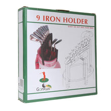 Cargar imagen en el visor de la galería, Golf 9 Iron Club ABS Shafts  Holder Stacker Fits Any Size of Bags Organizer