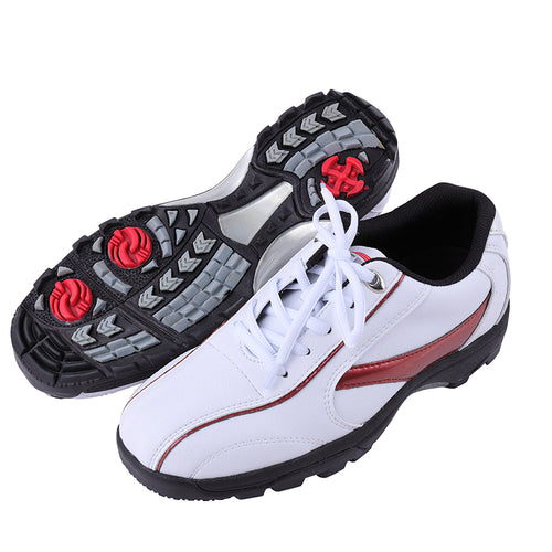 Professional Men's Golf Shoes Waterproof Breathable Golf Shoes Men Comfortable Non-Slip Activity Nails Outdoor Sneakers