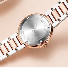 Cargar imagen en el visor de la galería, Switzerland CARNIVAL 2020 New Women Watches Luxury Brand Diamond Imported Quartz Ladies Watch Trendy Dress Clock montre femme