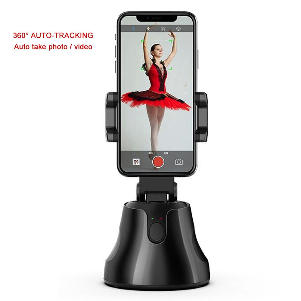 Auto Smart Shooting Selfie Stick Intelligent Follow Gimbal AI-composition Object Tracking Auto Face Tracking Camera Phone Holder
