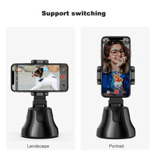 Cargar imagen en el visor de la galería, Auto Smart Shooting Selfie Stick Intelligent Follow Gimbal AI-composition Object Tracking Auto Face Tracking Camera Phone Holder