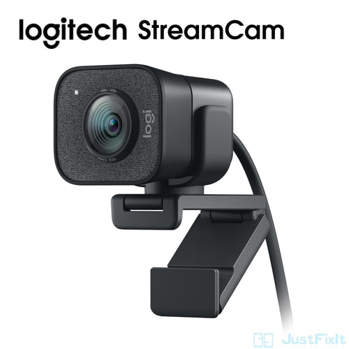 Logitech StreamCam Webcam Full HD 1080P / 60fps Autofocus Built-in Microphone Web Camera