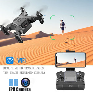 Mini RC Drone 4K HD Camera Professional Dron Remote Control Drone Helicopters Quadcopter Foldable Handy Drone Toys for Kids