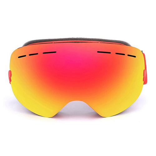 Winter Double Lens Anti-fog Ski Goggles Mirror Broad Vision Skating Skiing Goggles HD UV Protection Snowmobile Snowboard Glasses