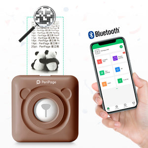 Impresora transmision termica bluetooth para notas movil 58mm Android IOS phone