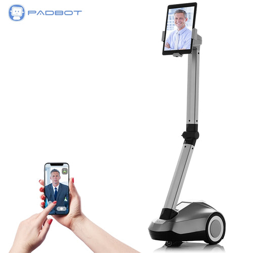 PadBot U2, Electronics Robot, Video Chat meeting baby monitor, smart home smart electronic product, free SDK for development