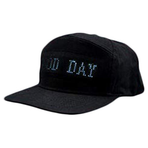New Luminous LED Display Multilanguage Wireless Bluetooth Party Baseball Cap Sun Hat