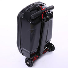 Cargar imagen en el visor de la galería, Multifunction travel business boarding luggage black scooter case Trailer micr trike