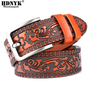 Factory Direct Belt Promotion Price New Fashion Designer Belt High Quality Genuine Leather Belts for Men Quality Assurance