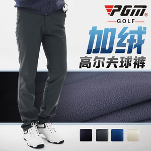 Autumn Winter Waterproof Men Golf Trousers Thick Keep Warm Windproof Long Pant Vetements De Golf Pour Hommes Tennis Clothing PGM