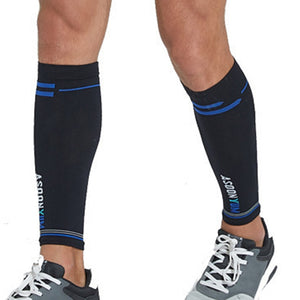 1 Pair Calf Sleeve Compression Leg Warmers Socks Outdoor Sports Shin Guard Calf Support for Football Soccer Running Basketball