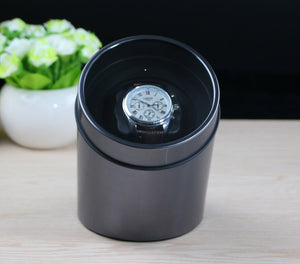 battery powered Black Single Watch Winder for automatic watches watch box automatic winder storage display case box