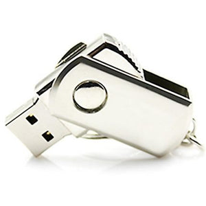 HOT USB 3.0 Flash Drive 32/64/128GB Pen Drive 16GB 8GB Keychain Memory Stick Metal Pendrive 1TB 2TB Classic Design USB Gadget