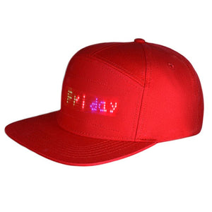 Gorra beisbol con LED luminoso Multilenguaje inalámbrico Bluetooth. Proteccion solar