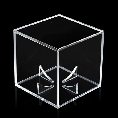Acrylic Box Golf Tennis Ball Transparent Case Baseball Display Dustproof Souvenir Storage Box Holder Dustproof clear and bright