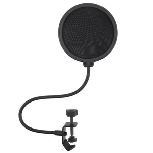 Double Layer Studio Microphone Flexible Wind Screen Sound filter for Broadcast Karaoke youtube Podcast Recording Accessories