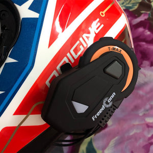 2000M 6 Riders Motorcycle Helmets Intercom Bluetooth Headsets Group Talking FM Radio Bluetooth 4.1 120KM/H upgrade T-MAX E