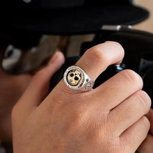Cargar imagen en el visor de la galería, Vintage Domineering Skull Rings for Men Trendy Hip-hop Skull Ring Heavy Metal Punk Rock Ring Gift Biker Steam Motorcycle Jewely