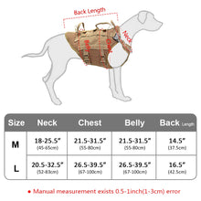 Cargar imagen en el visor de la galería, Durable Nylon Dog Harness Tactical Military K9 Working Dog Vest No Pull Pet Training Harnesses Vest for Medium Large Dogs M L
