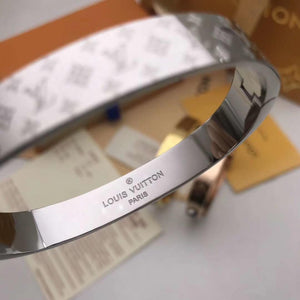 Pulseras Louis Vuitton unisex color plata y oro.