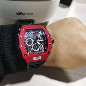 Richard Mille Cronografo McLaren Lujo. RM50-03. Multiples zonas horarias. 46mm. Replica.