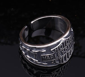 Anillo abierto regulable Halley Davis plata esterlina 925