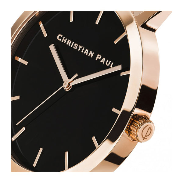 Christian Paul Raw Rose black