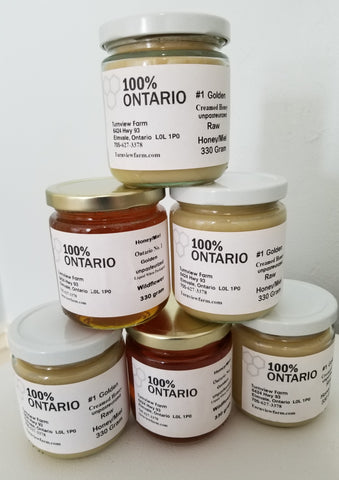 Unpasteurized Honey