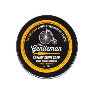 The Gentleman - Creamy Shave Soap