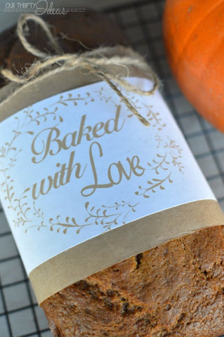 Printable bread wrappers