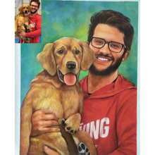 Load image into Gallery viewer, Oil Pet Portrait