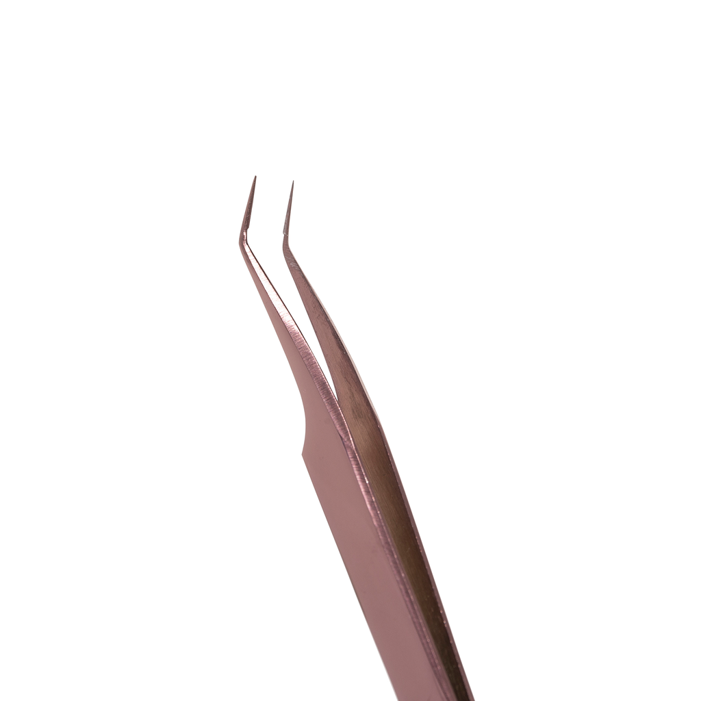 Rose Gold Isolation Tweezer