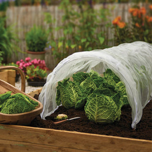 New Growing Patch 3m Grow Long Tunnel Fleece Net Cover Cloche Plants Vegetables