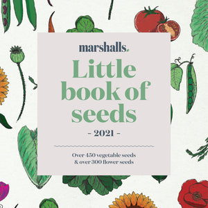 Order Your FREE Marshalls Little book of Seeds Catalogue 2021