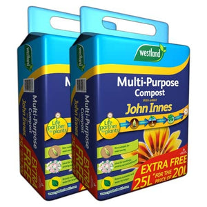 Westland Multi Purpose Compost with JI 25L x2