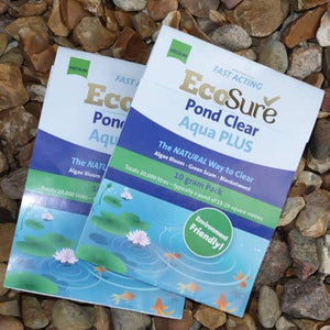 EcoSure Medium Pond Clear Twin Pack