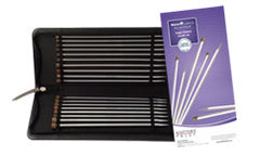 Nova Cubics Platina Straight Needle Set 10
