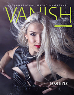 VANISH MAGIC MAGAZINE Editorial Nov. 2020