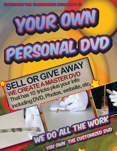 CUSTOM MAGIC DVD