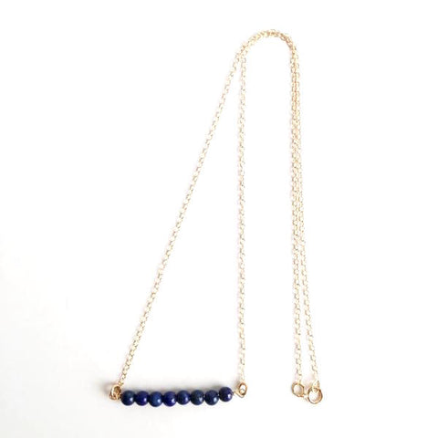 Lapis Lazuli Gold Filled Necklace