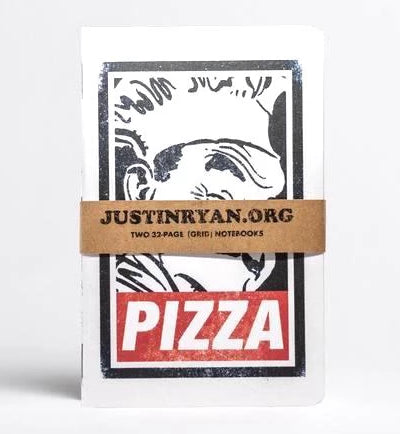 Pizza Memo Notebook Set