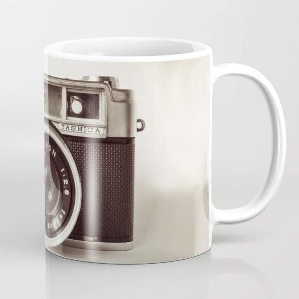 Black and White Photographer's Camera Mug