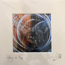 'Holding into Hope' Signed photo print