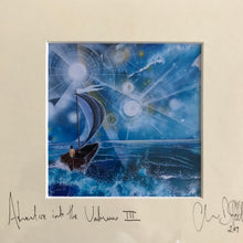 'Adventure Into the Unknown III'- signed photo print in a cream mount