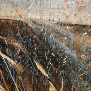 Grasses on the track by Plas