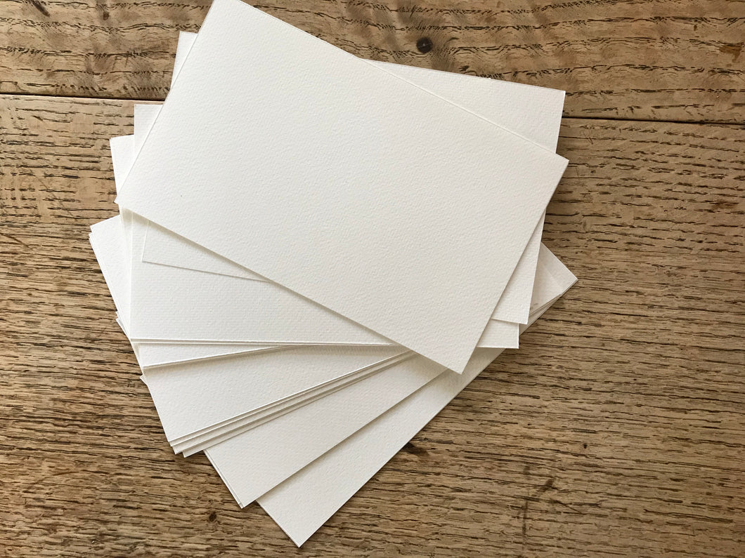 20 pieces of 200gsm Cold Pressed Watercolour paper